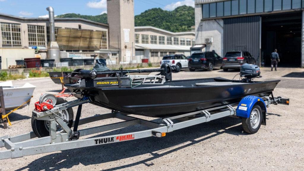 Mercato dell'Usato AB2 Nautica Bass boat